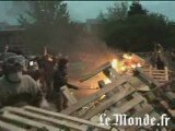 Blocage de la prison de Fleury-Mérogis