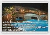 Logiciel immobilier:agences,transactions immobilières