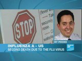 Influenza A: US reports second swine flu death