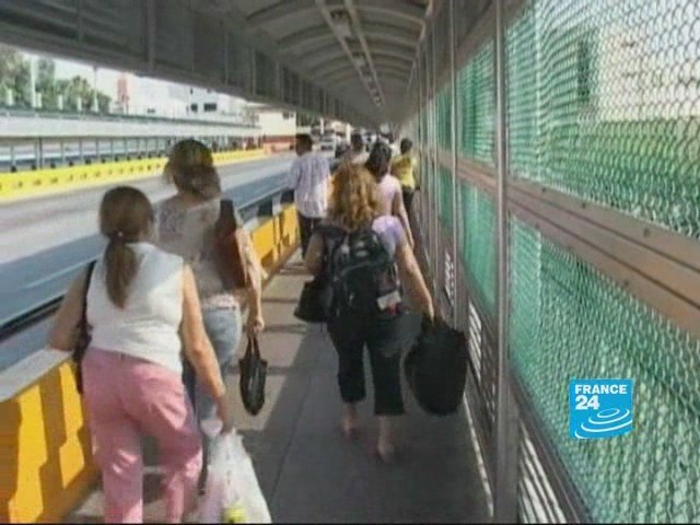 Mexico - USA: border town weighs financial cost of H1N1 flu