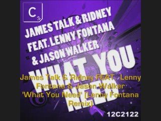 James Talk & Ridney FEAT. Lenny Fontana & Jason Walker 'W...