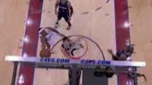 NBA Mo Williams makes a smart pass to LeBron for the scoop l