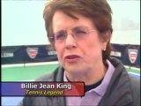 Billie Jean King & John McEnroe Floating Tennis Match