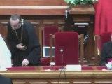 Mesajul Papei Benedict al XVI-lea la Patriarhie