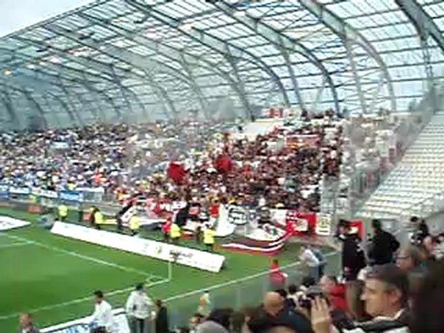 Entrée des joueurs Grenoble-Nice saison 2008-2009