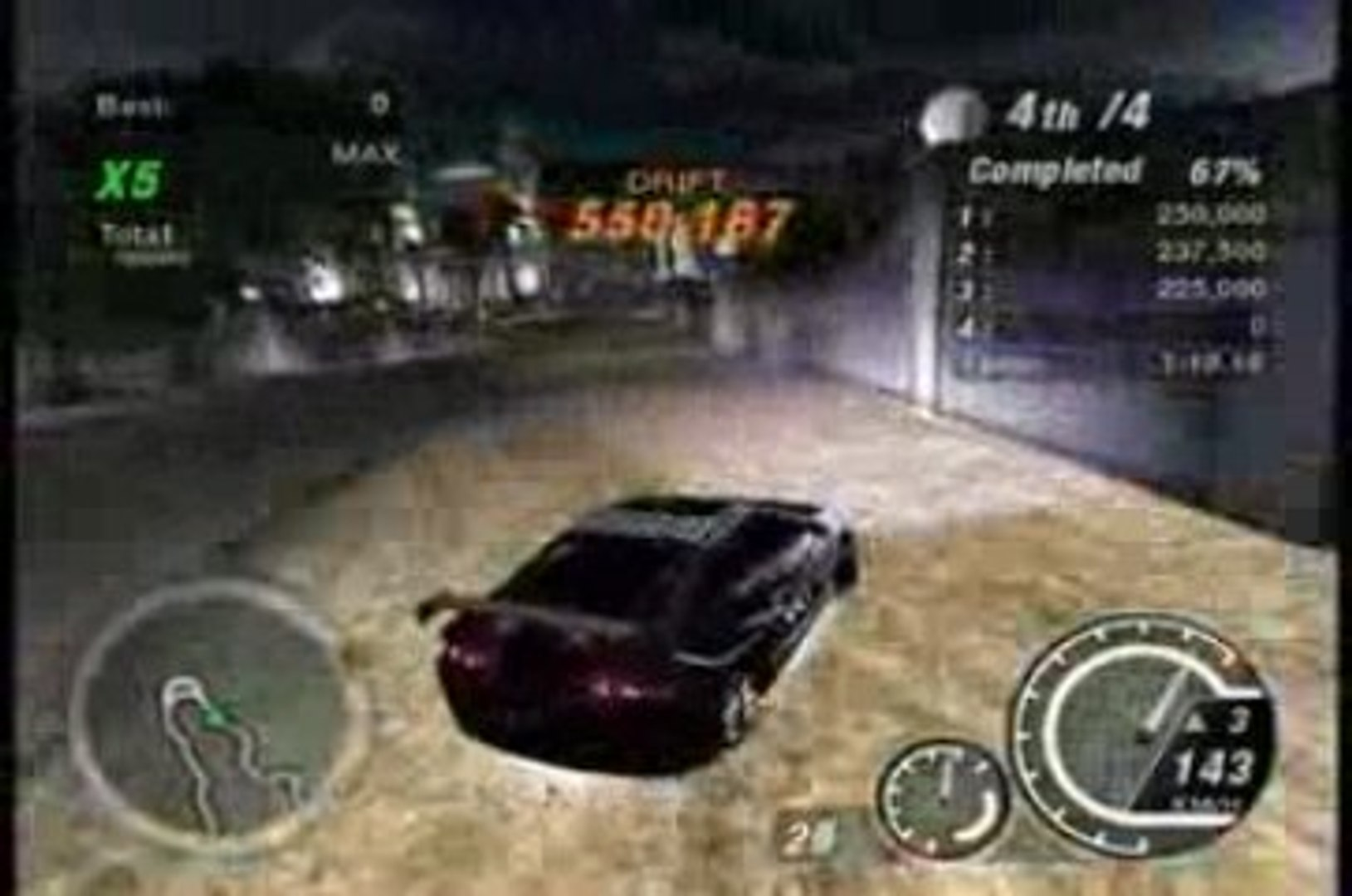 NFSU2 - NON-STOP DRIFTING WITH ACURA RSX - 1 000 000