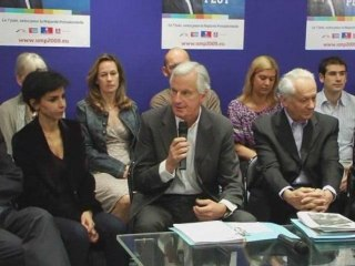 Conférence de presse de présentation de la liste