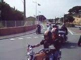 Parade Harley Davidson Saint Tropez 2009