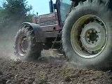 Préparations des terres à maïs 2009 par vidéoagri50 partie n°1