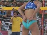 Beach Volley - France-Bresil Féminin - FIVB