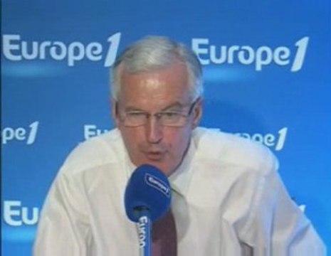 """Barnier : """"L'Europe ne peut pas être une fuite en avant"""""""
