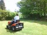 Dgé en mode Tracteur Tondeuse