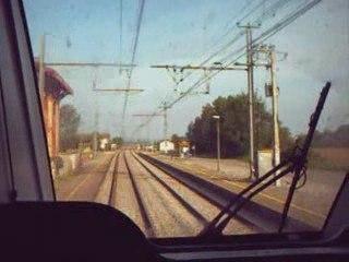 En cabine de conduite de Z 27500 de Castelnaudary à Toulouse