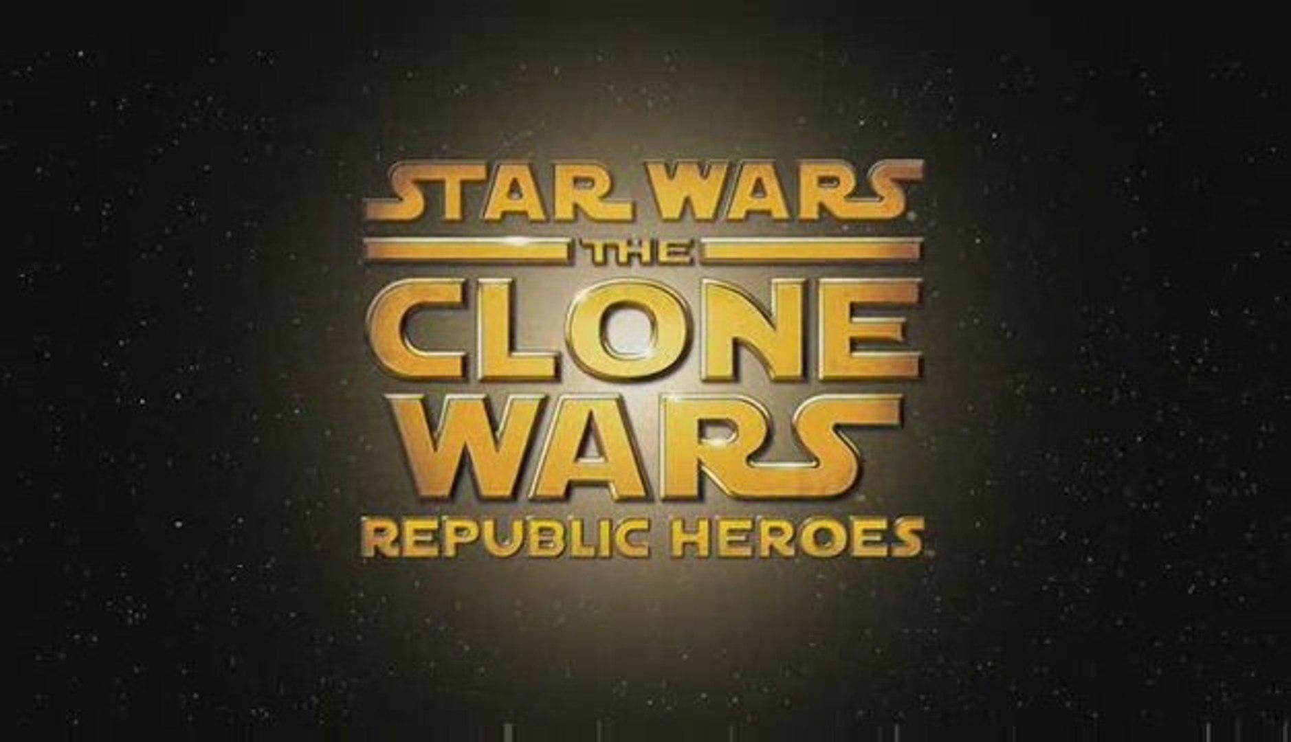 Star Wars The Clone Wars : Republic Heroes - Trailer