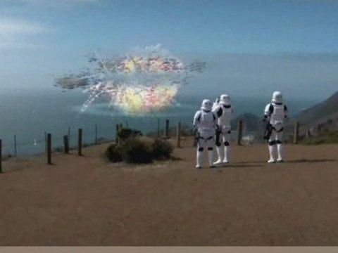 Death Star Destroys Enterprise