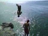 Free Jumper Pied de lune Tracasse salto Arriere avant