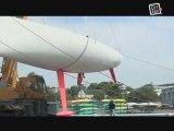 Voile : Le bateau de Marc Lepesqueux enfin prêt!