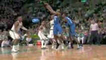 Anthony Johnson throws a wonderful alley-oop pass to Mickael