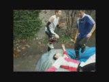 et ouai c bien nous .the french backyard wrestling moment