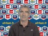 SFR Foot - Itw Raymond Domenech