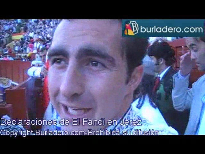 Declaraciones Jerez de la Frontera, 15 de Mayo 2009