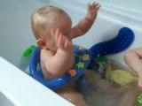 encore dans le bain