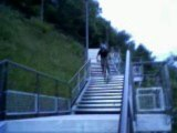 guillaume freeride vtt escaliers