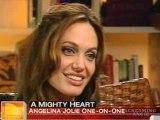 "ANGELINA JOLIE * JOLIE ON ""A MIGHTY HEART"""