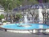 La Bourboule: La place du Jet d'eau