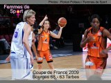 CDF Basket 2009 - Bourges Tarbes - Diapo Photos