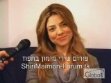 Shiri Maimon @ the recordings for Global One