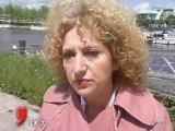 Européennes : Bernadette Vergnaud en campagne dans l'ouest