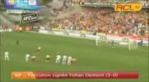 Compilation des buts lensois [2008/2009] en Ligue 2