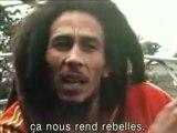 Interview de Bob Marley sur le cannabis.