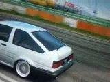 forza drift AE86