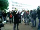 Chirac à la fac de Caen-CPE