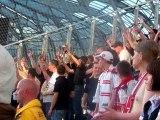 Chant nancéens au stade des alpes