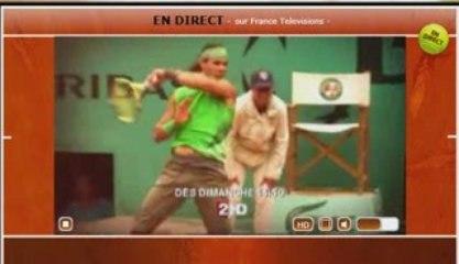 Roland Garros 2009 France Télévisions