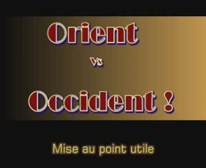 Video Orient Vs Occident - dégénéré, décadence, rené, guénon