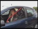 ceinture sécurité pneumatique de confort pour ceintures