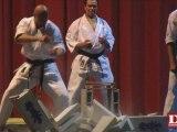 Soirée arts martiaux biesheim séance de casse karaté