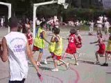Fête mini basket 2009: poussins vs Basket Azur
