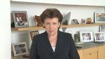 UMP 2009 Nantes : message de Roselyne Bachelot