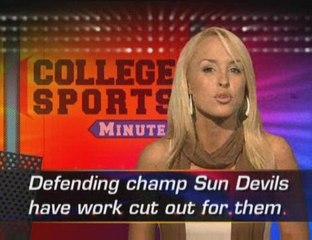 College Sports Minute for Monday, May 25, 2009