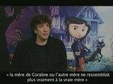 Coraline - Interview Neil Gaiman WTB