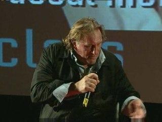 Master class Gérard Depardieu