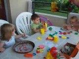 Activités chez marraine avec mes cops Amélie et Noé