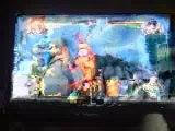 Naruto ultimate nija storm Naruto kyuubi (moi) vs Rock Lee
