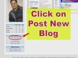 MySpace Help and MySpace Guide: Blog Tutorial