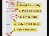 MySpace Help and MySpace Guide: Classified Ads Tutorial